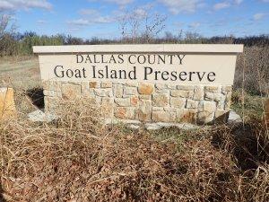 Goat Island Preserve Signage